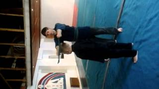Goju Ryu Karate training for the young Samurai