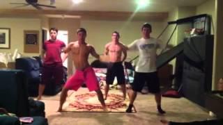 Don't drop that thun thun thun- sexy boys dancing