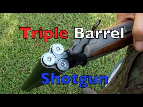 Three Barrel Shotgun