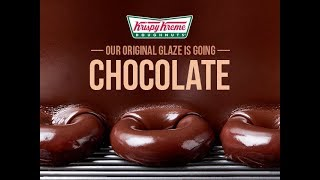 Krispy Kreme Original Glaze Goes Chocolate