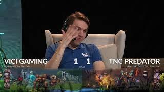 TNC Predator vs ViCi Gaming Game 3 KL Major Playoff Day 4