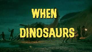 When Dinosaurs Ruled the Earth (1970) - HD Trailer [1080p]