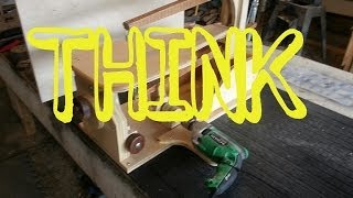 Homemade - DIY - Scroll Saw! Drill Powered!