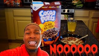 Dog Food For Breakfast PRANK!!!
