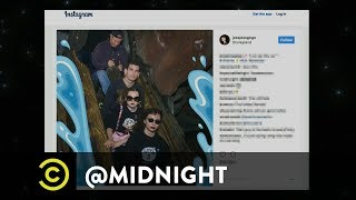 Extended - Goths Flock to Disneyland - Uncensored - @midnight with Chris Hardwick