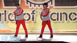 POWER PERALTA TWINS of CHILE  WORLD OF DANCE  YAK FILMS  WOD SAN DIEGO 2010