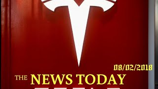 Tesla Shares Surge As Investors Embrace Cash Comments, Musk Apology | News Today | 08/02/2018 |...