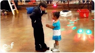 HILAROUS Jealous Little Girl   Dancing Boy Is Ladies' Man