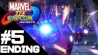 Marvel vs. Capcom: Infinite Walkthrough Gameplay/Ending – PS4 1080p Full HD – No Commentary