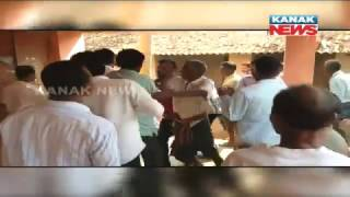 Poll Violence: Group Clash In Jajpur; Cops Lathi Charge