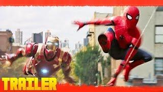 Spider-Man: Homecoming (2017) Primer Tráiler Oficial Español