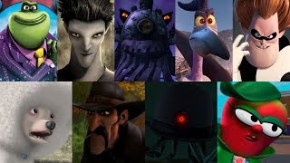 Defeats of My Favorite Animated Movie Villains Part 4