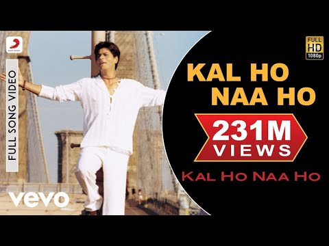 Kal Ho Naa Ho - Title Track Video | Shahrukh Khan, Saif, Preity