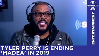 Tyler Perry is saying goodbye to his Madea series