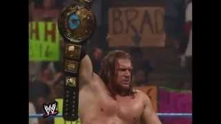 WWF -Triple H vs The Rock (special guest referee Shawn Michaels) - SmackDown! - 1999