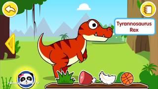 Baby Panda Dinosaur Planet | Dinosaurs Games For Kids | Play and Learn Dinosaurs | TwinkleStarsTV
