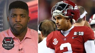 Jalen Hurts should have transferred from Alabama before 2018 – Emmanuel Acho | College Football Live