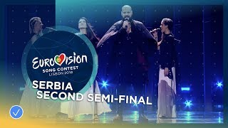 Sanja Ilić & Balkanika - Nova Deca - Serbia - LIVE - Second Semi-Final - Eurovision 2018