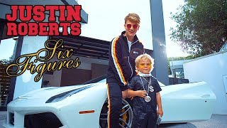 Justin Roberts - Six Figures (feat. Mini Jake Paul) (Official Music Video)