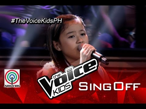 """The Voice Kids Philippines 2015 Sing-Off Performance: """"Invisible"""" by Akisha"""