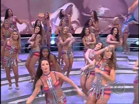 Bailarinas do Faustão 20 Jan 2013