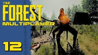 The Forest Multiplayer Gameplay w/ Ch1ckenb0ne E12 - Double Denmother Attack!!!!