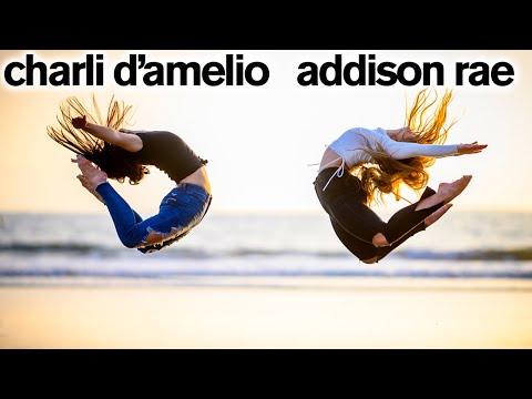 Charli D Amelio and Hype House Stars CRASH FANS TIKTOKS ft. Addison Rae
