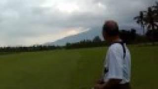 Baradas airstrip bumpy landing