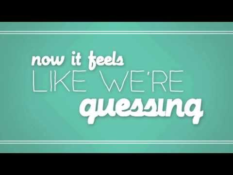 Against The Current Guessing Official Lyric Video