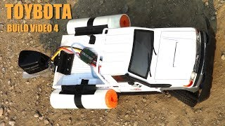 RC ADVENTURES - TOYBOTA PROJECT - PT 4 - BBC TOP GEAR TRiBUTE BUiLD - TOYOTA TRUCK-BOAT