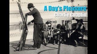 Charlie Chaplin -  Deck Chair Clip (A Day