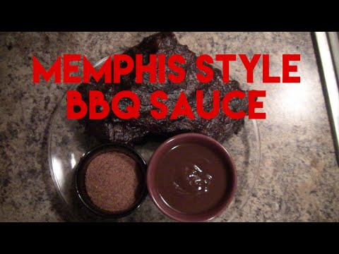 Memphis Style Barbecue Sauce - BBQ Sauce Recipes #6