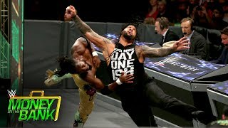 The Usos vs. The New Day - SmackDown Tag Team Title Match: WWE Money in the Bank 2017 (WWE Network)
