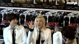 [Exclusive] NU'EST REN Demonstrates His Aegyo Skills!