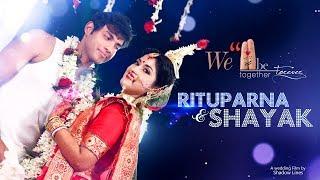 The royal bengali wedding highlights video of Rituparna & Shayak in Kolkata, India by  Shadow Lines