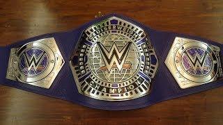 NEW WWE CRUISERWEIGHT CHAMPIONSHIP TITLE REPLICA BELT