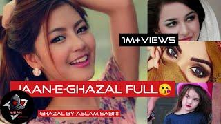 Jaan-e-ghazal full