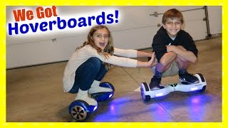 KIDS ON HOVERBOARDS