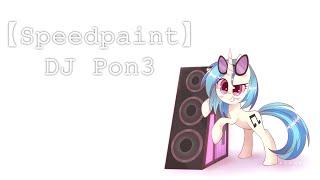 【Speedpaint】DJ Pon3