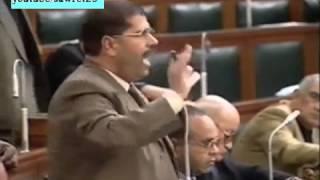 موقف لن ينسى للرئيس محمد مرسى ضعيف الشخصية شاهد و احكم بنفسك .