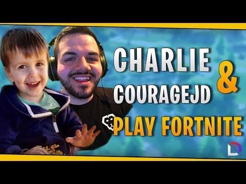 Fortnite Charlie & CouRageJD Play Fortnite October 2018 DrLupo