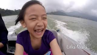 Lifia Niala Liburan ke Bali Vlog Keliling Danau Ulun Danu Beratan Bedugul Bali @Lifiatubehd