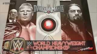 WWE Wrestlemania 31 FULL match card