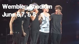 One Direction - Where We Are Tour - London, Uk - FULL Concert