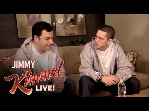 Xxx Mp4 Briefcase Joe Eminem Teaches Jimmy Kimmel To Rap 3gp Sex