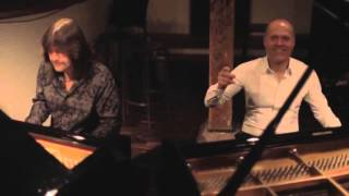Robert Wells&Joja Wendt Rehearsal/Роберт Уэллс и Йойа Вендт Совместная репетиция в Гамбурге