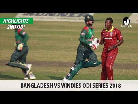 Xxx Mp4 Bangladesh Vs Windies Highlights 2nd ODI Windies Tour Of Bangladesh 2018 3gp Sex