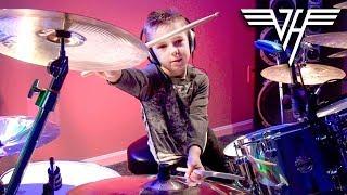 Hot For Teacher - Drum Cover - 6 year old Drummer - Avery Drummer Molek