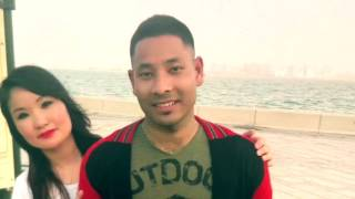 New nepali song anta maya lako bhaye (कभर )भिडियो कतार मा सुटिङ भाको एक चोटी हेर्नु होला