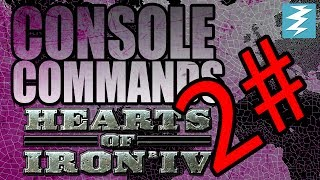 HEARTS OF IRON 4 CHEATS #2 / Console commands - Hearts of Iron IV HOI4 Paradox Interactive